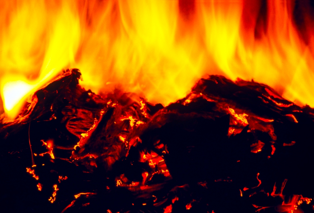 recycling fire