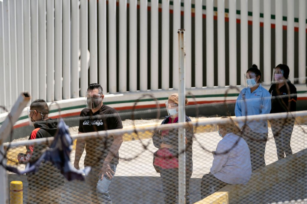 Frontera de San Diego y Tijuana
