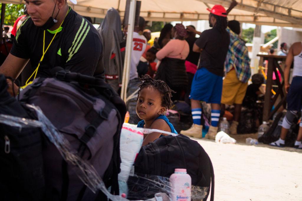 migrant child haiti
